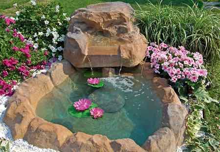 Fontane e laghetti floricoltura fratelli sabbadini - Giardini con fontane ...
